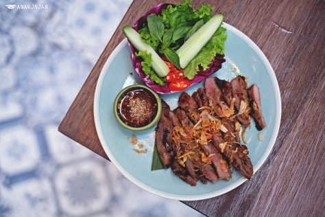 Grilled Pork Collar IDR 55k