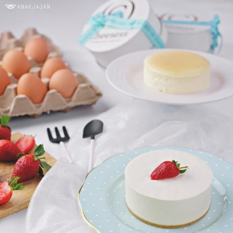 Kyoto White Cheesecake IDR 162.8k S/ IDR 250.8k M/ IDR 260.8k L