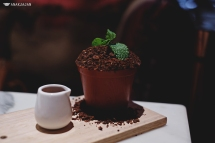 Potted Carrot Cake with Chocolate Soil IDR 75k