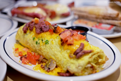 Big Steak Omelette AED 46