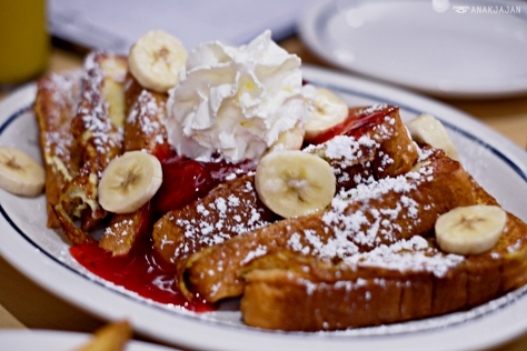 Strawberry Banana French Toast AED 39