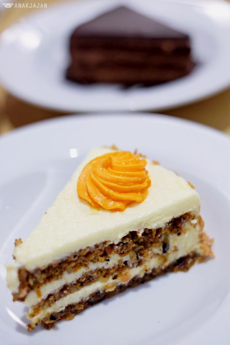 Carrot Cake AED 28