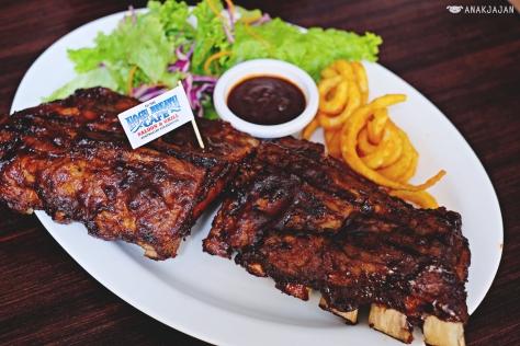 Smoked BBQ Pork Ribs  IDR 298k Full Rack