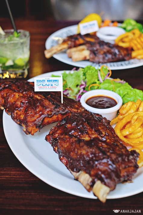 Smoked BBQ Pork Ribs  IDR 298k Full Rack