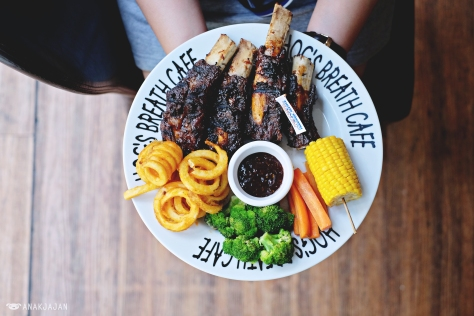 Smoked Herb BBQ Beef Ribs IDR 228k