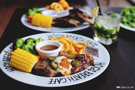 El Grande Prime Rib Steak IDR 218 Lite/ IDR 249 Regular/ IDR 318 Boss Hog