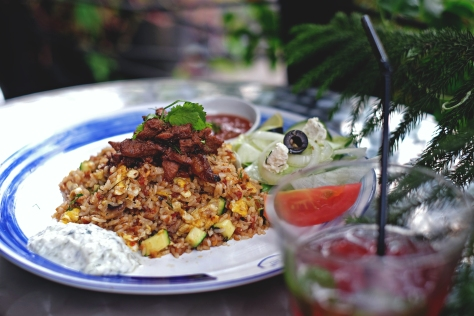 Mediterranean Fried Rice Lamb IDR 58k