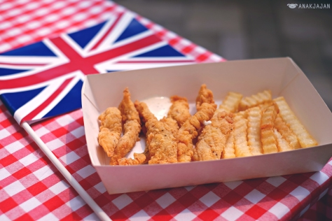 Fish & Chips cooking demo and competition on Sunday