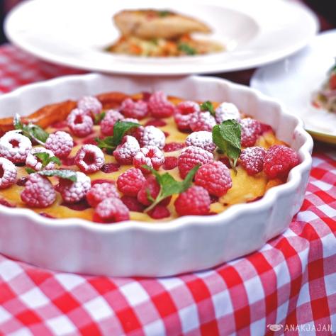 dish creation by Chef Gary Rhodes