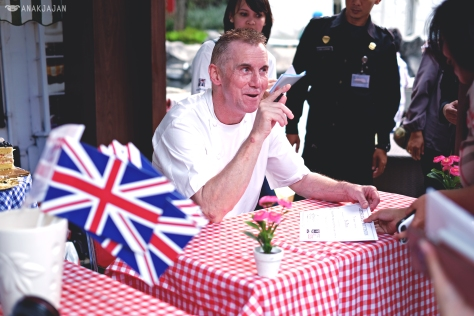 Meet & Greet with Chef Gary Rhodes after opening ceremony