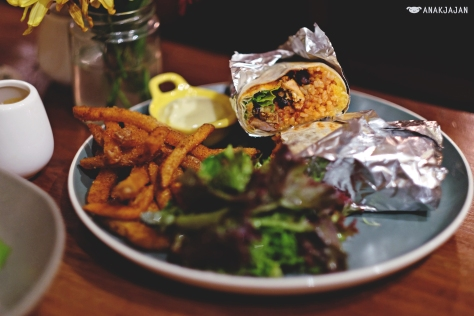 Benedict Burrito IDR 85k (Chicken)