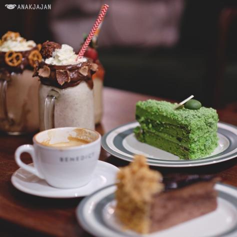 Matcha Matcha Cake IDR 60k