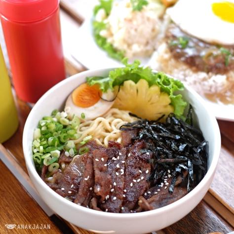 BBQ Beef Dry Noodle IDR 53k