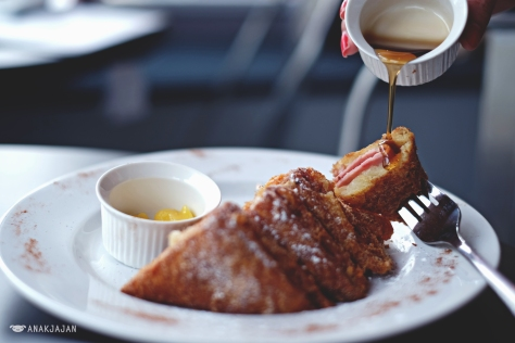 The French Toast Breakfast IDR 55k
