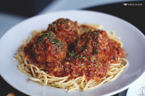 Brooklyn Spaghetti and Meatballs IDR 180k