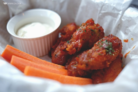 Red Hot Chicken Wings IDR 45k