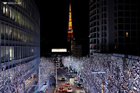 roppongi hills + tokyo tower