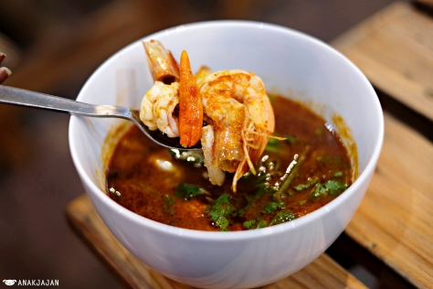 Tom Yum Seafood IDR 38k - Lotus Thai Express