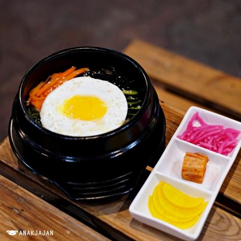 Bibimbap Chicken IDR 35k - Cupbento