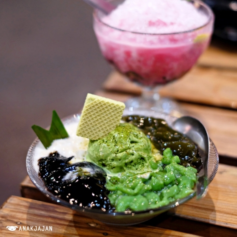 Duren Green Tea IDR 26k