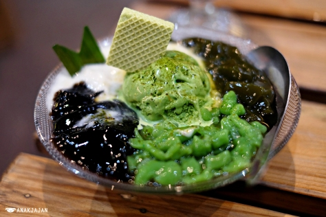 Es Duren Green Tea IDR 26k