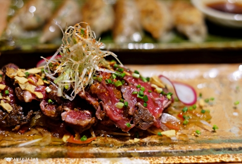 Beef Tataki IDR 80k