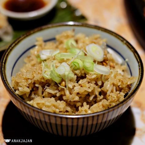 Teppanyaki Garlic Rice L 60k