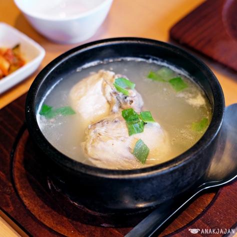 Samgyetang IDR 44.5k (Half Chicken)