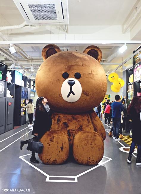 Korea Line Friends Store Amp Cafe Seoul Anakjajan Com
