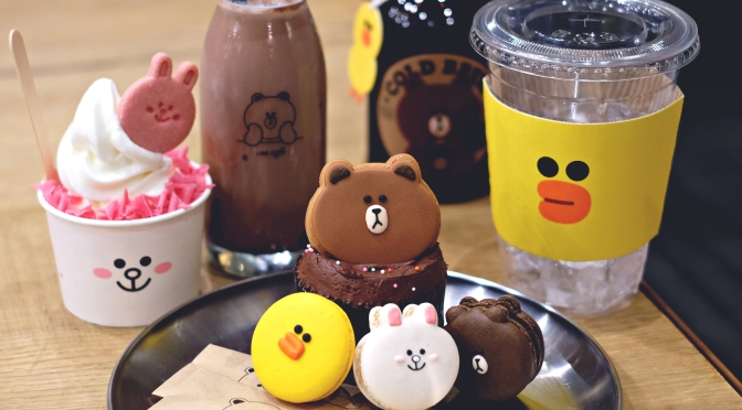 [KOREA] LINE FRIENDS Store & Cafe Seoul