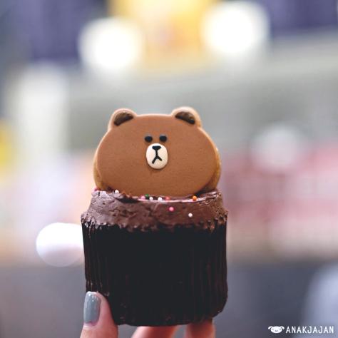 Brown Choco Cupcake KRW 5.900
