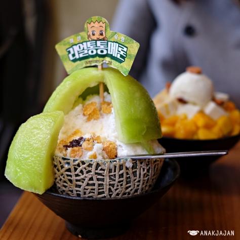 Melon Bingsu KRW 13.000