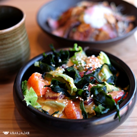 Sushi Sen Salad IDR 58k
