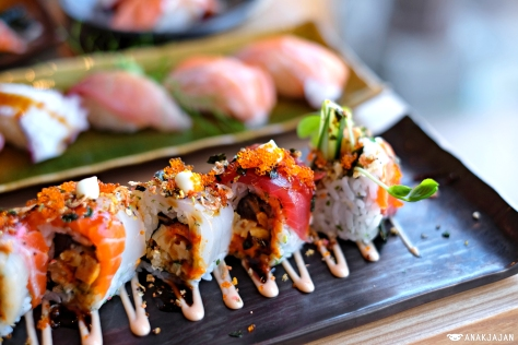 Sushi Sen Fusion Roll IDR 158k