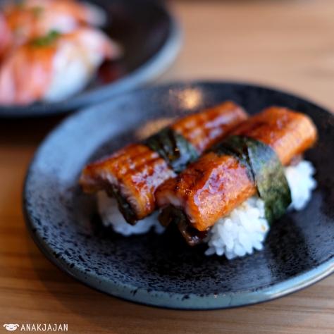 Unagi Sushi IDR 40k/pc