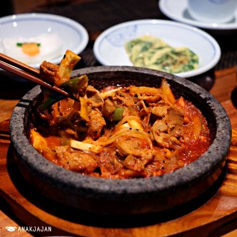 Grilled Pork Jeonju Style KRW 18.000