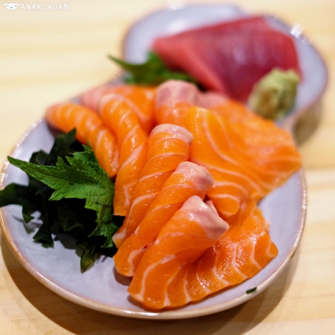 Salmon Belly Sashimi IDR 25k/ 2pcs