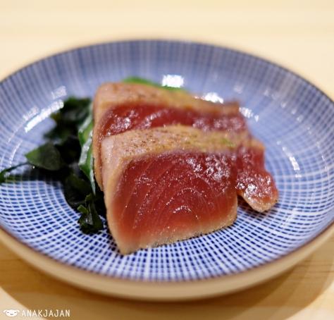 Maguro Aburi Sashimi IDR 20k/ 2pcs