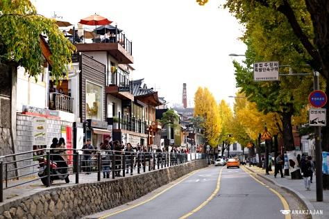 samcheong-dong area