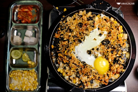 Fried Rice with Fish Roe KRW 3.000