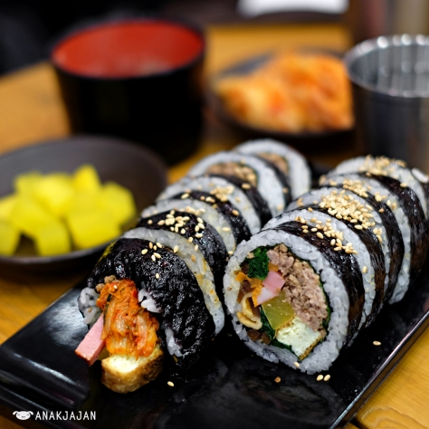 Assorted Kimbap KRW 4.500