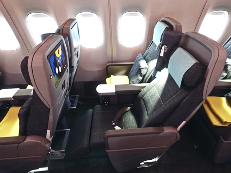 Premium Economy Class (image credit: China Airlines)