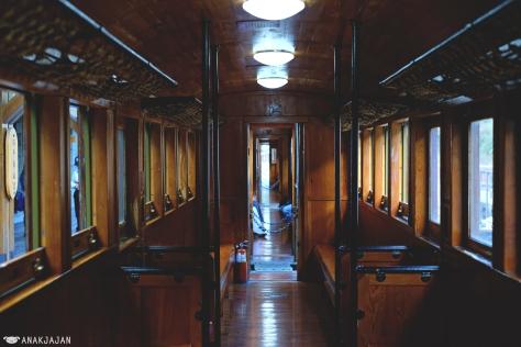 interior inside train
