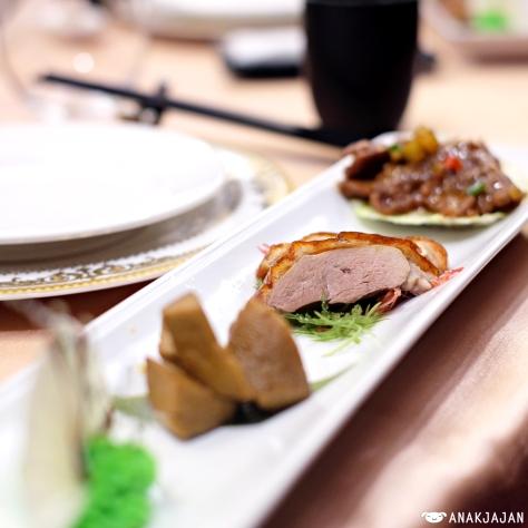 set dinner at Banquet Hall, Tayih Landis Tainan
