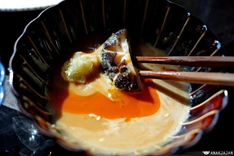 goma with chilli oil