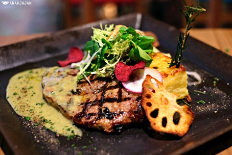 Wagyu Sirloin with Wasabi Pepper Sauce IDR 368k