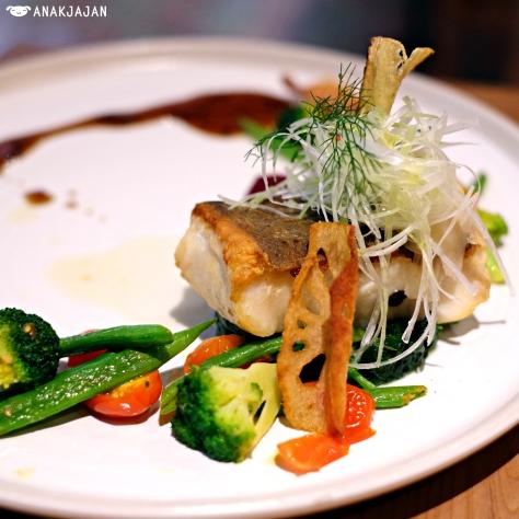 Black Cod with Balsamic Teriyaki Sauce