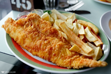 Traditional Fish & Chips GBP 11.70 regular