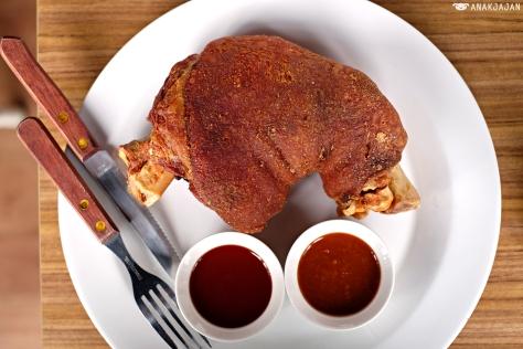 Crackling Pork Knuckle IDR 169k