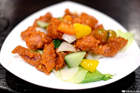 Sweet and Sour Pork IDR 135k